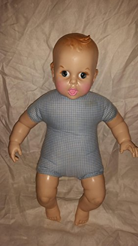 Vintage Gerber Baby Doll 1970 Hard Plastic & Cloth Baby Doll ()