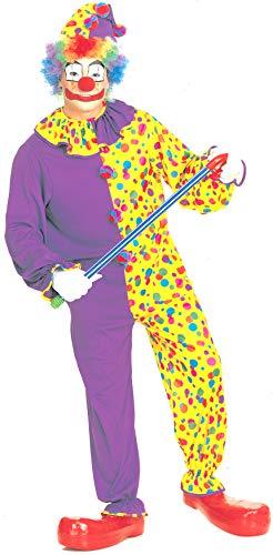Rubie's Men's Smiley The Clown, Multi, One