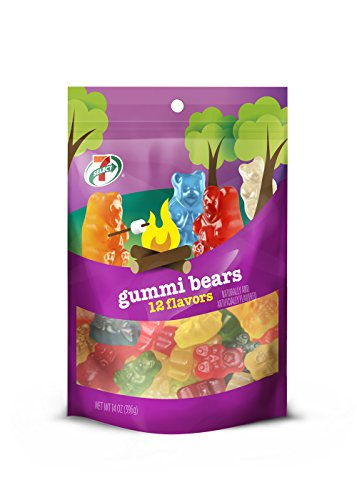 7 Select Gummi Bears 14 Oz Pk  6 Packs   84 Ounces