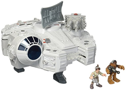 Super Hero Adventures Sw Gh Millennium Falcon Preschool Figures & Playset