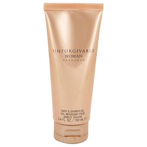 - Unforgivable by Sean John Shower Gel 3.4 oz for Women - 100% Authentic