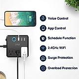 Smart Power Strip Work with Alexa Google