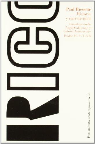 Historia Y Narratividad / Time and Narrative (Paidos Contemporaneo / Contemporary) (Spanish Edition)
