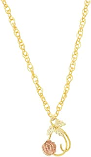 product image for Black Hills Gold Rose Necklace