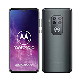 Motorola One Zoom Dual-SIM 128GB (GSM Only, No CDMA) Factory Unlocked 4G/LTE Smartphone (Electric Grey) - International Version