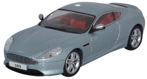 Aston Martin Db9 Coupe, Metallic-light Blue, Rhd, 0, Model Car, Ready-made,