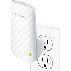 TP-Link AC750 Dual Band WiFi Range Extender, Extends WiFi to Smart Home & Alexa Devices, Up to 150% More Throughput Than N300 (RE200)