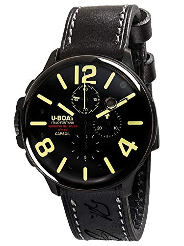 U-Boat capsoil Chrono DLC Black
