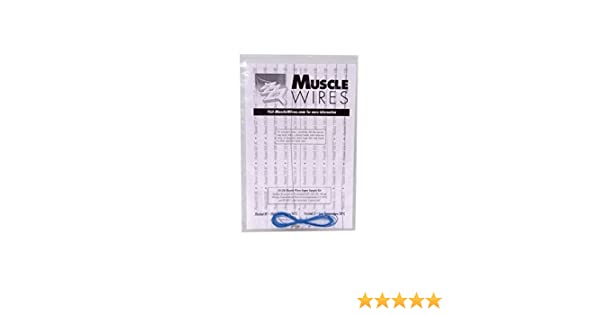 5 Sizes Mondo Tronics 3-136 Muscle Wire/® Super Sample Kit