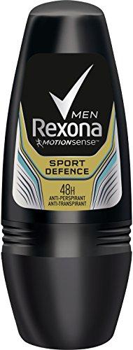 Rexona Men Deo Roll-On Sport Defence Anti-Transpirant, 6er Pack (6x 50 ml)