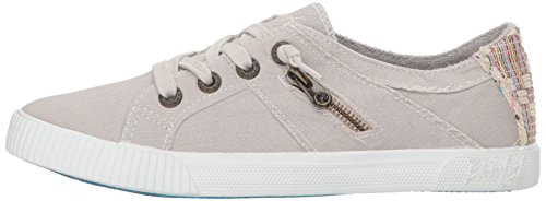 Pictures of Blowfish Women's Fruit Sneaker Sand Grey Sand Grey Smoked Oz Canvas 5