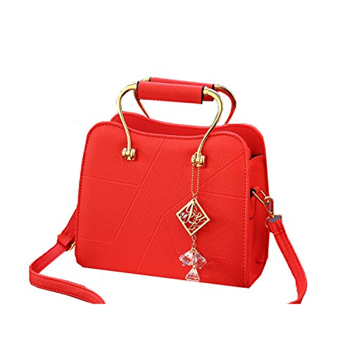 Jund - Backpack Bag Red Red Red Woman