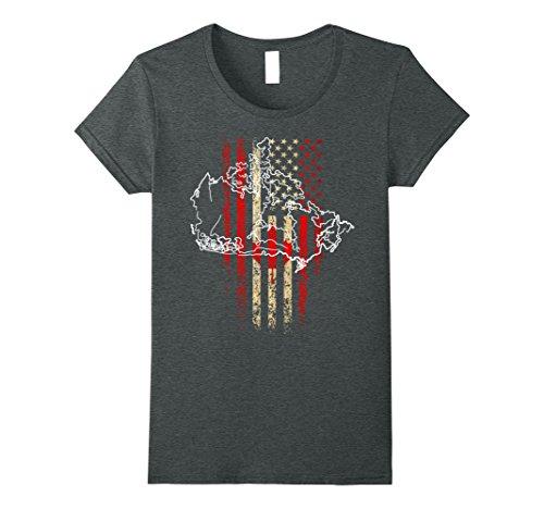 womens-canada-flag-t-shirt-canadian-america-flag-vintage-shirt-large-dark-heather