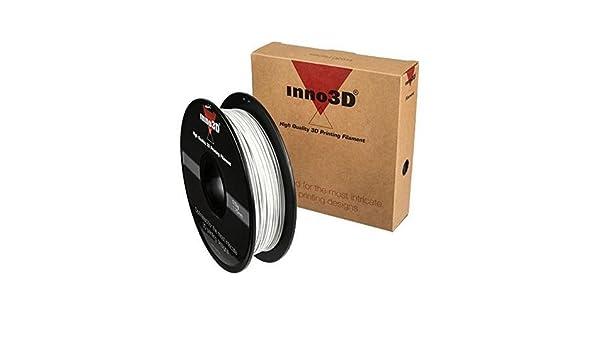 Inno3d 3dp-fa175-wh05 Abs White 500 G Abs 3d Printers & Supplies 3d Printer Consumables White