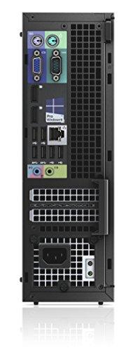 Dell Optiplex XE2 Small Form Factor Desktop, Intel Core i7-4770S Quad-Core 3.1GHz, 8GB DDR3, 128GB Solid State Drive, Win10Pro(Certified Refurbished)