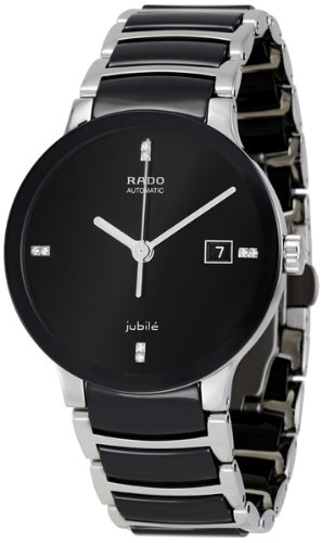 - Rado Centrix Jubile Black Dial Stainless Steel Automatic Men's Watch R30941702