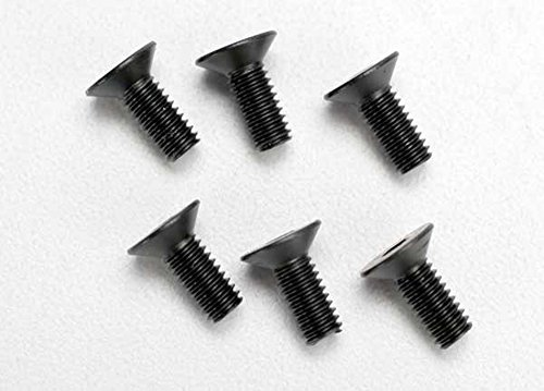 Traxxas 2535 Hex-Drive Countersunk Machine Screws, 4x10mm (set of 6) - Traxxas Countersunk Screws