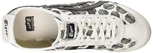 ASICS - Mexico 66 D620n-0190-10, Zapatillas unisex adulto Blanco (white/black 0190)