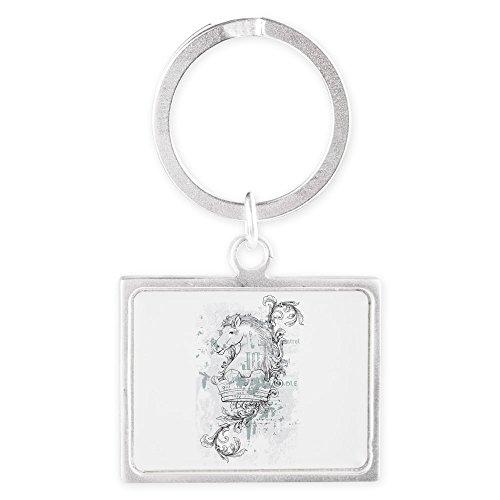 Pony White Key Ring - 9