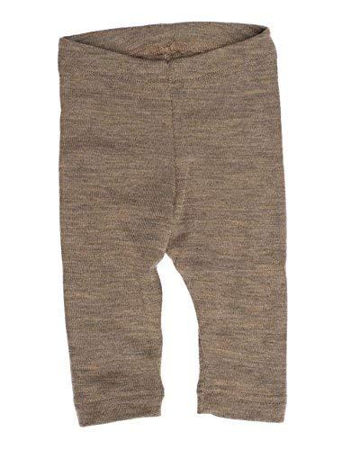 (Engel Pants Merino Wool Silk Baby Leggings Organic eco 70 3550 (62/68, Walnut))