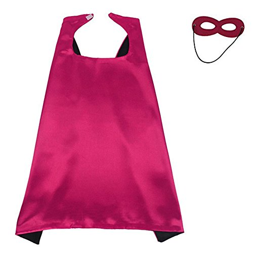 KOSTING Red Cape, Superman Cape, Superhero Capes for Kids, Superhero Gift for Women]()