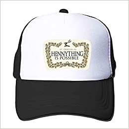 873f5580d54a9 OugtherH Hennything is Possible Printing Cap Unisex Adult Baseball Mesh Hat   Amazon.com  Books