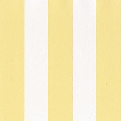 SY33906 Galerie Stripes 2 White Yellow Striped Wallpaper