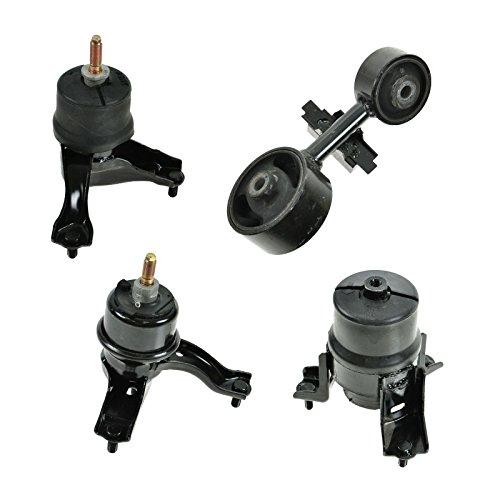 Motor Engine & Transmission Mount Set of 4 for Toyota Camry Solara 4 Cyl 2.4L 4 Cyl Engine Mount