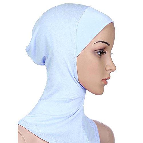 Ksweet Soft Hijab Caps Under Scarf Women Hijabs Turban Cap Inner Hijab Scarfs Underscarf