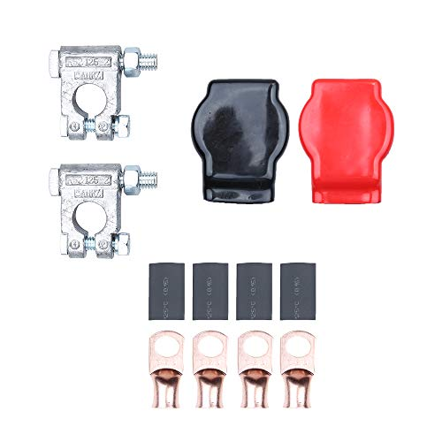 (Hoypeyfiy Battery Terminal Top Post Kit Military Spec for Race Cars Off-road Vehicles RV's)