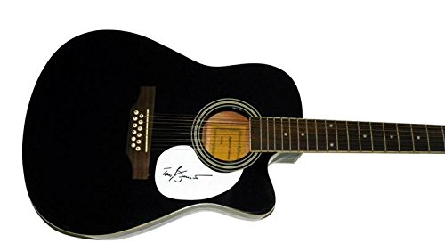 Tony Bennett Autographed Signed 12 String Acous/Electric Guitar AFTAL (Guitar Acous Electric)