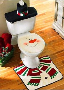 Santa Claus Bathroom Decorations For 2018 Jolly And Jovial