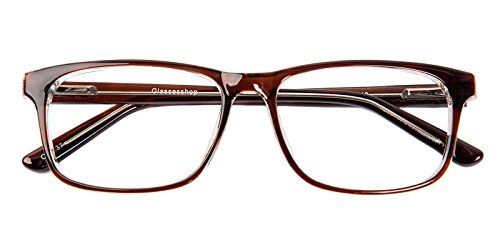 Glassesshop Retro Optical-Quality RX-Able Eyeglasses Rectangle Eyewear - Optical Eyeglasses