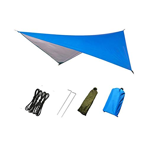 - Meiyum Hammock Rain Fly Tent Tarp, Hex Waterproof Ripstop Nylon Camping Shelter Canopy Rainfly for Camping Hiking Backpacking