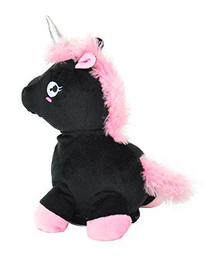 Kögler 75666 - Laber - Unicornio, el Todo nachplappert - Peluche, Color Negro: Amazon.es: Juguetes y juegos