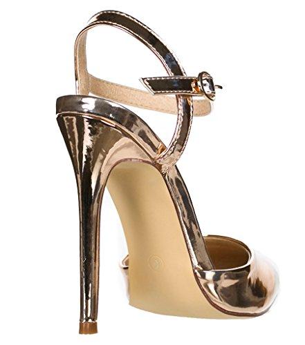 Breckelles Isabel-01 D-Orsay Pumps-Shoes b8COxEfRCN