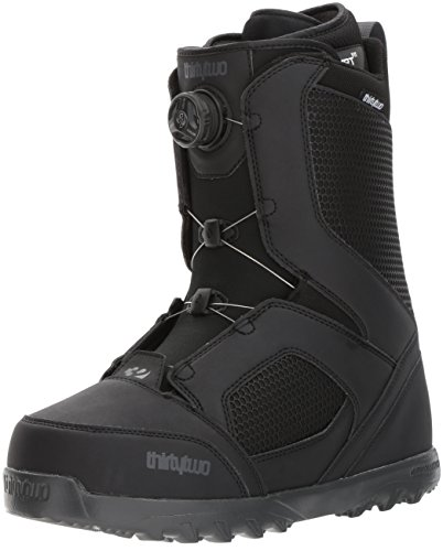 thirtytwo STW Boa '17 Snowboarding Boot, Black, 14