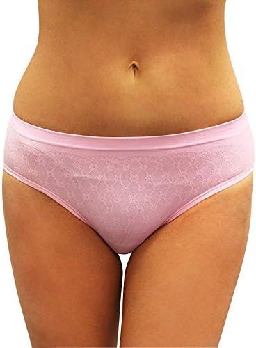 Honey B Jacquard Seamless Bikini-4 Pack