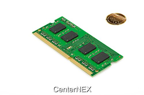 CenterNEX® 1GB Memory STICK Compatible with HP-Compaq 500 Notebook Series 510 (GLE960) 510 (GME965) 511 515 516 540 HP 514. SO-DIMM DDR2 NON-ECC PC2-6400 800MHz RA - Compaq 515 Notebook