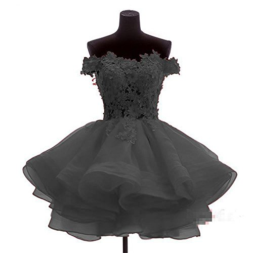C7 Women Homecoming Prom Line Black A Chugu Juniors Off Short Shoulder Dress Dresses YRWUUnP6x