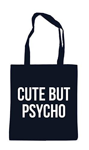 Cute But Psycho Bag Black