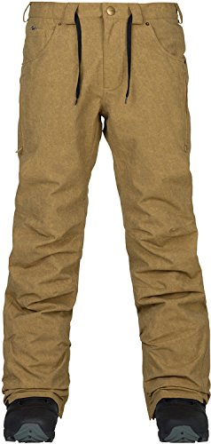 Analog - Mens Thatcher Snow Pants 2018, Kelp, L (Snowboard Analog Pants)