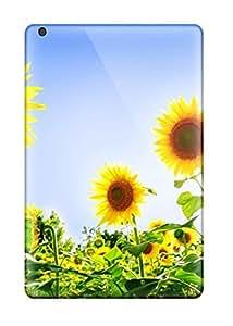 New Gorgeous Sunflowers Tpu Case Cover, Anti-scratch ZippyDoritEduard Phone Case For Ipad Mini/mini 2