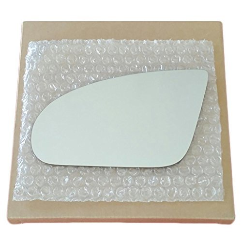 Mirror Glass and Adhesive 1993 - 2002 Pontiac Firebird Transam Driver Left Side Replacement (Trans Am Driver)