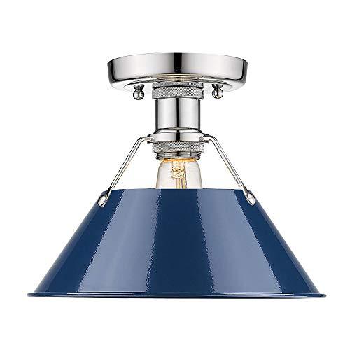 Navy Blue Pendant Light in US - 6