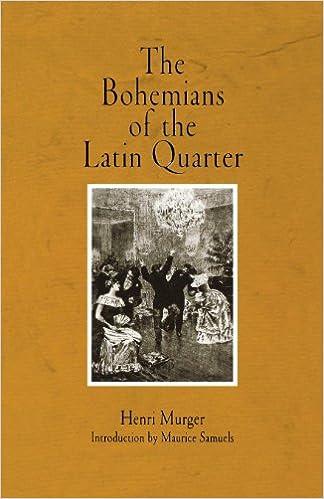 BOHEMIANS OF THE LATIN QUARTER EPUB DOWNLOAD