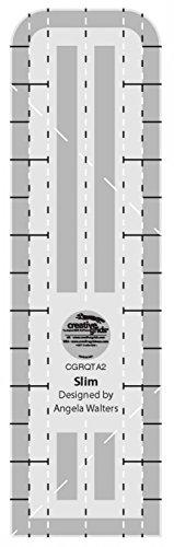 Grid Machine - Creative Grids Machine Quilting Tool Ruler Template - Slim CGRQTA2