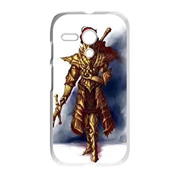 Motorola G Cell Phone Case White Dark Souls Zwot: Amazon.es ...