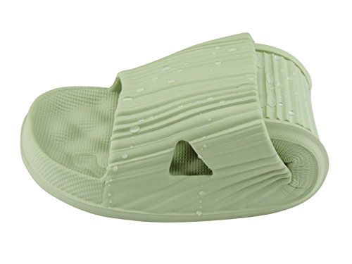 Green and Soft Shoes Unisex for Men Slippers On Sandals Casual House Slippers Sole Anti Shower Women Foams Pool Slip Bathroom Slip aRUEPExn