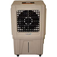 Cajun Kooling CK3000 Evaporative Air Cooler High Power 3000 CFM with 600 Square Foot Cooling Area